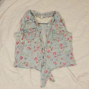 Forever 21 collared girls shirt